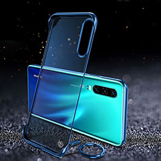 Transparent Crystal Hard Rigid Case Back Cover S03 for Huawei P30 Blue