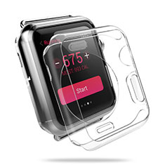 Transparent Crystal Hard Rigid Case Cover for Apple iWatch 3 42mm Clear