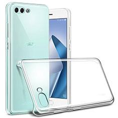 Transparent Crystal Hard Rigid Case Cover for Asus Zenfone 4 ZE554KL Clear