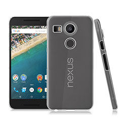 Transparent Crystal Hard Rigid Case Cover for Google Nexus 5X Clear