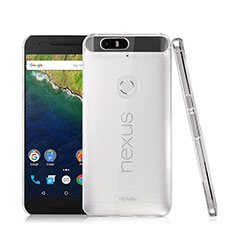 Transparent Crystal Hard Rigid Case Cover for Google Nexus 6P Clear