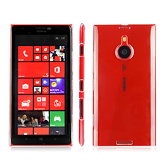 Transparent Crystal Hard Rigid Case Cover for Nokia Lumia 1520 Clear