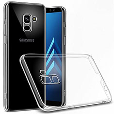 Transparent Crystal Hard Rigid Case Cover for Samsung Galaxy A6 (2018) Clear