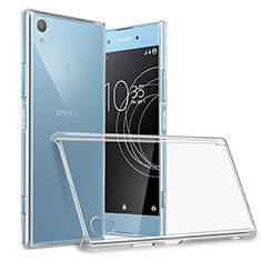 Transparent Crystal Hard Rigid Case Cover for Sony Xperia XA1 Plus Clear