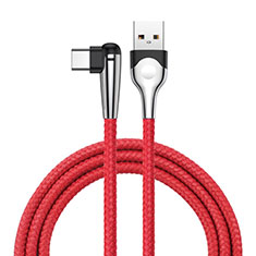Type-C Charger USB Data Cable Charging Cord Android Universal T17 for Alcatel 5V Red