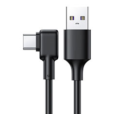 Type-C Charger USB Data Cable Charging Cord Android Universal T22 Black