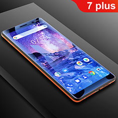 Ultra Clear Anti Blue Light Full Screen Protector Film B01 for Nokia 7 Plus Clear