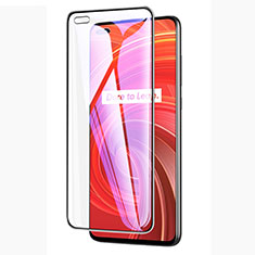 Ultra Clear Anti Blue Light Full Screen Protector Tempered Glass A01 for Realme X50 Pro 5G Black