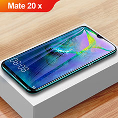 Ultra Clear Anti Blue Light Full Screen Protector Tempered Glass F02 for Huawei Mate 20 X 5G Black