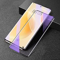 Ultra Clear Anti Blue Light Full Screen Protector Tempered Glass F02 for Huawei Nova 8 5G Black
