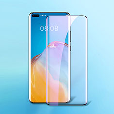 Ultra Clear Anti Blue Light Full Screen Protector Tempered Glass F02 for Huawei P40 Pro Black