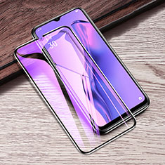 Ultra Clear Anti Blue Light Full Screen Protector Tempered Glass F02 for Oppo A31 Black