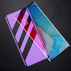Ultra Clear Anti Blue Light Full Screen Protector Tempered Glass F02 for Oppo Find X2 Neo Black