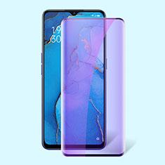 Ultra Clear Anti Blue Light Full Screen Protector Tempered Glass F02 for Oppo K7 5G Black