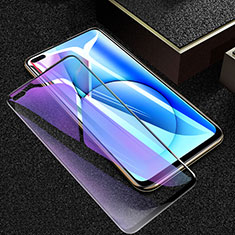 Ultra Clear Anti Blue Light Full Screen Protector Tempered Glass F02 for Realme X50 5G Black
