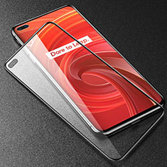 Ultra Clear Anti Blue Light Full Screen Protector Tempered Glass F02 for Realme X50 Pro 5G Black