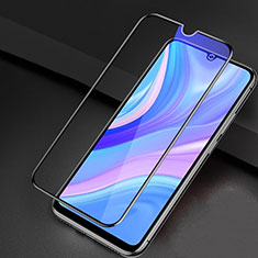 Ultra Clear Anti Blue Light Full Screen Protector Tempered Glass for Huawei Enjoy 10S Black