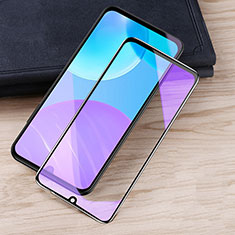 Ultra Clear Anti Blue Light Full Screen Protector Tempered Glass for Huawei Honor 30 Lite 5G Black