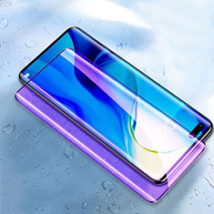 Ultra Clear Anti Blue Light Full Screen Protector Tempered Glass for Huawei Honor 30 Pro Black