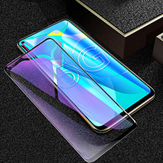 Ultra Clear Anti Blue Light Full Screen Protector Tempered Glass for Huawei Honor 30S Black
