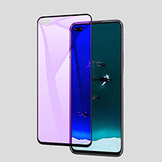 Ultra Clear Anti Blue Light Full Screen Protector Tempered Glass for Huawei P40 Black