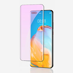 Ultra Clear Anti Blue Light Full Screen Protector Tempered Glass for Huawei P40 Pro Black