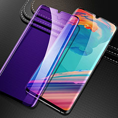 Ultra Clear Anti Blue Light Full Screen Protector Tempered Glass for OnePlus 7 Black
