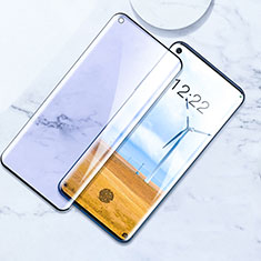 Ultra Clear Anti Blue Light Full Screen Protector Tempered Glass for OnePlus 8 Pro Black