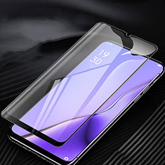 Ultra Clear Anti Blue Light Full Screen Protector Tempered Glass for Oppo A5 (2020) Black