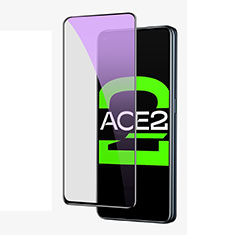 Ultra Clear Anti Blue Light Full Screen Protector Tempered Glass for Oppo Ace2 Black