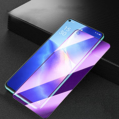 Ultra Clear Anti Blue Light Full Screen Protector Tempered Glass for Oppo Reno5 5G Black