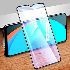 Ultra Clear Anti Blue Light Full Screen Protector Tempered Glass for Realme C11 Black