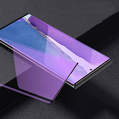 Ultra Clear Anti Blue Light Full Screen Protector Tempered Glass for Samsung Galaxy Note 20 Ultra 5G Black