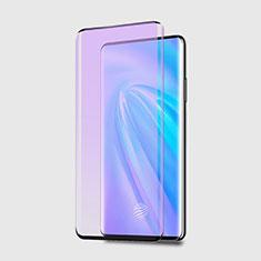 Ultra Clear Anti Blue Light Full Screen Protector Tempered Glass for Vivo Nex 3 Black