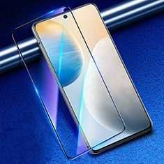 Ultra Clear Anti Blue Light Full Screen Protector Tempered Glass for Vivo X60 5G Black
