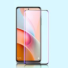 Ultra Clear Anti Blue Light Full Screen Protector Tempered Glass for Xiaomi Mi 10i 5G Black