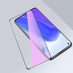 Ultra Clear Anti Blue Light Full Screen Protector Tempered Glass for Xiaomi Mi 10T 5G Black