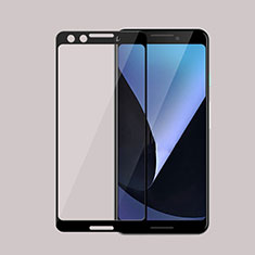 Ultra Clear Full Screen Protector Tempered Glass F02 for Google Pixel 3 Black