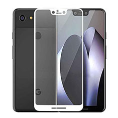 Ultra Clear Full Screen Protector Tempered Glass F02 for Google Pixel 3 XL White