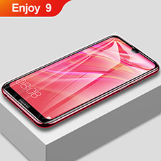 Ultra Clear Full Screen Protector Tempered Glass F02 for Huawei Enjoy 9 Black