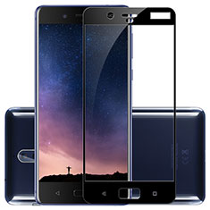 Ultra Clear Full Screen Protector Tempered Glass F02 for Nokia 8 Black
