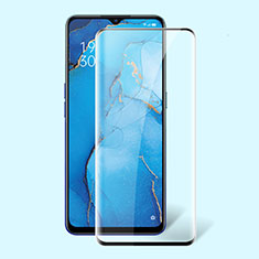 Ultra Clear Full Screen Protector Tempered Glass F02 for Oppo Reno3 A Black