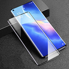 Ultra Clear Full Screen Protector Tempered Glass F02 for Oppo Reno5 Pro 5G Black