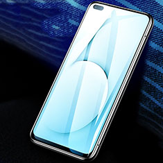 Ultra Clear Full Screen Protector Tempered Glass F02 for Realme X50m 5G Black