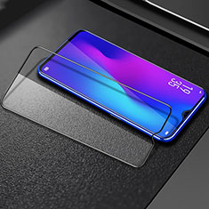Ultra Clear Full Screen Protector Tempered Glass F02 for Samsung Galaxy A70 Black