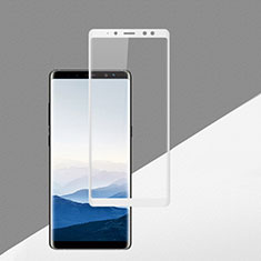 Ultra Clear Full Screen Protector Tempered Glass F02 for Samsung Galaxy A8 (2018) Duos A530F White