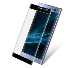 Ultra Clear Full Screen Protector Tempered Glass F02 for Sony Xperia XA2 Plus Black