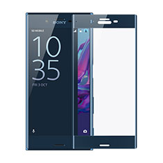 Ultra Clear Full Screen Protector Tempered Glass F02 for Sony Xperia XZ Blue