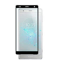 Ultra Clear Full Screen Protector Tempered Glass F02 for Sony Xperia XZ2 Black