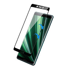 Ultra Clear Full Screen Protector Tempered Glass F02 for Sony Xperia XZ4 Black
